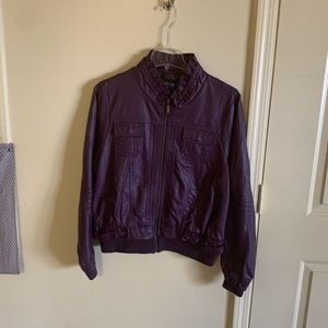 Purple Passion Bomber